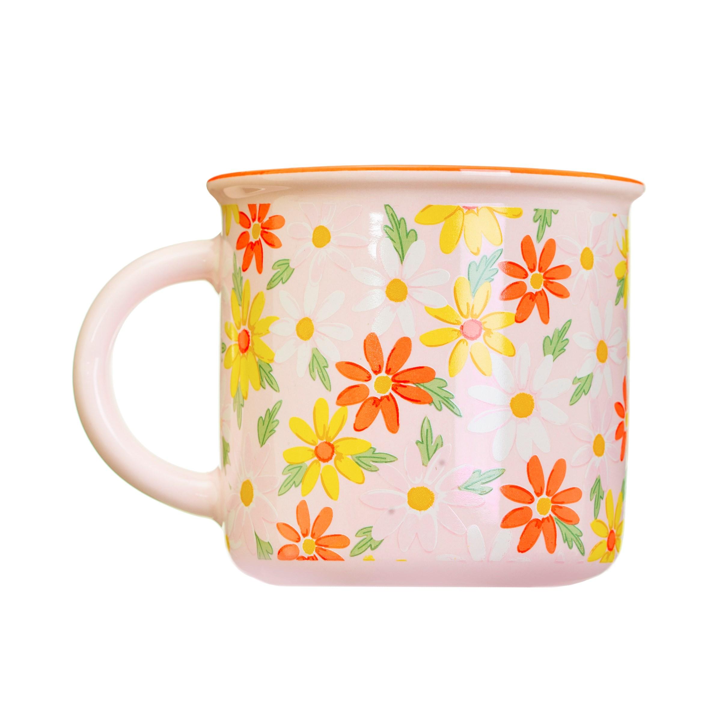 Pink Daisy Mug