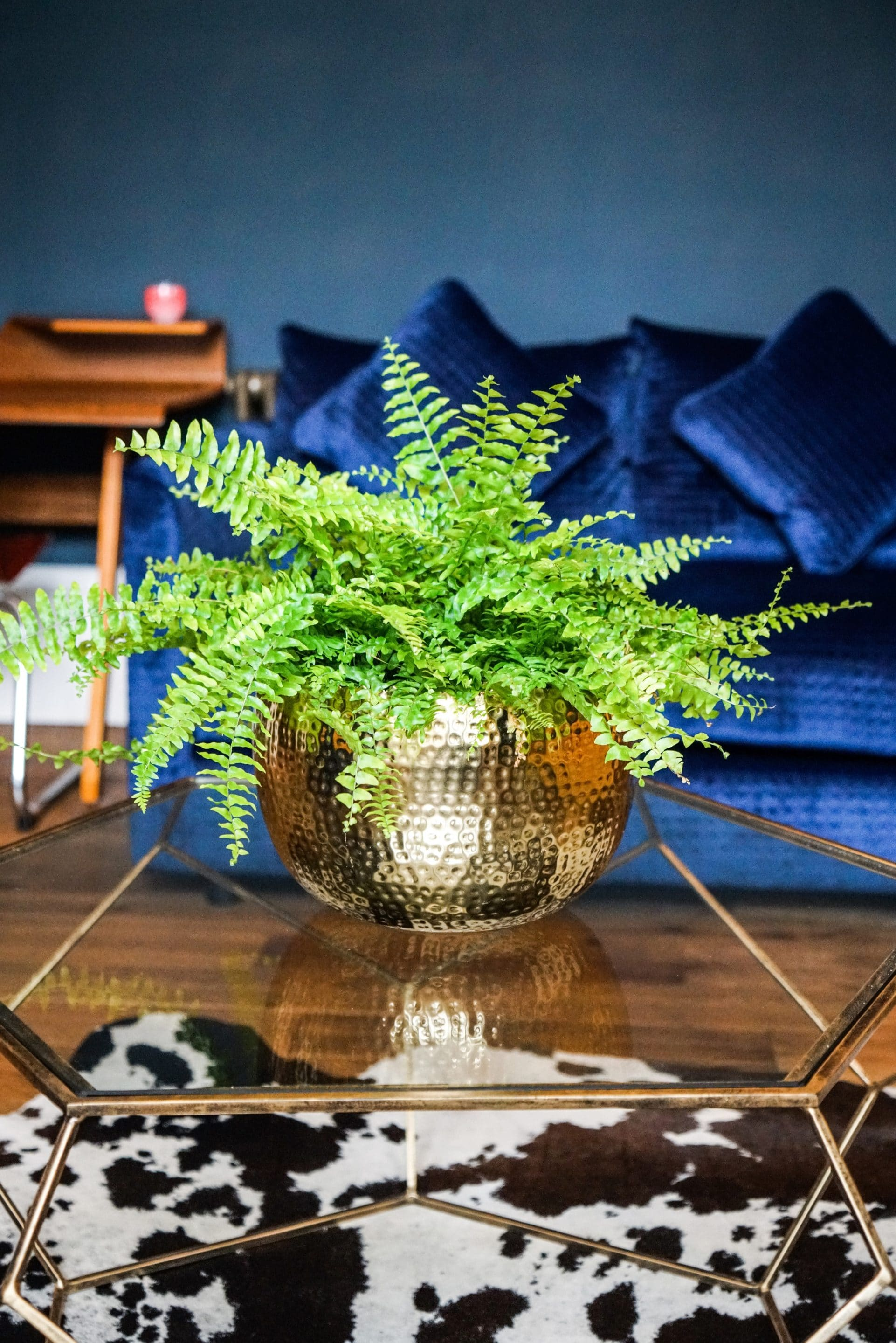 Large Gold Planter