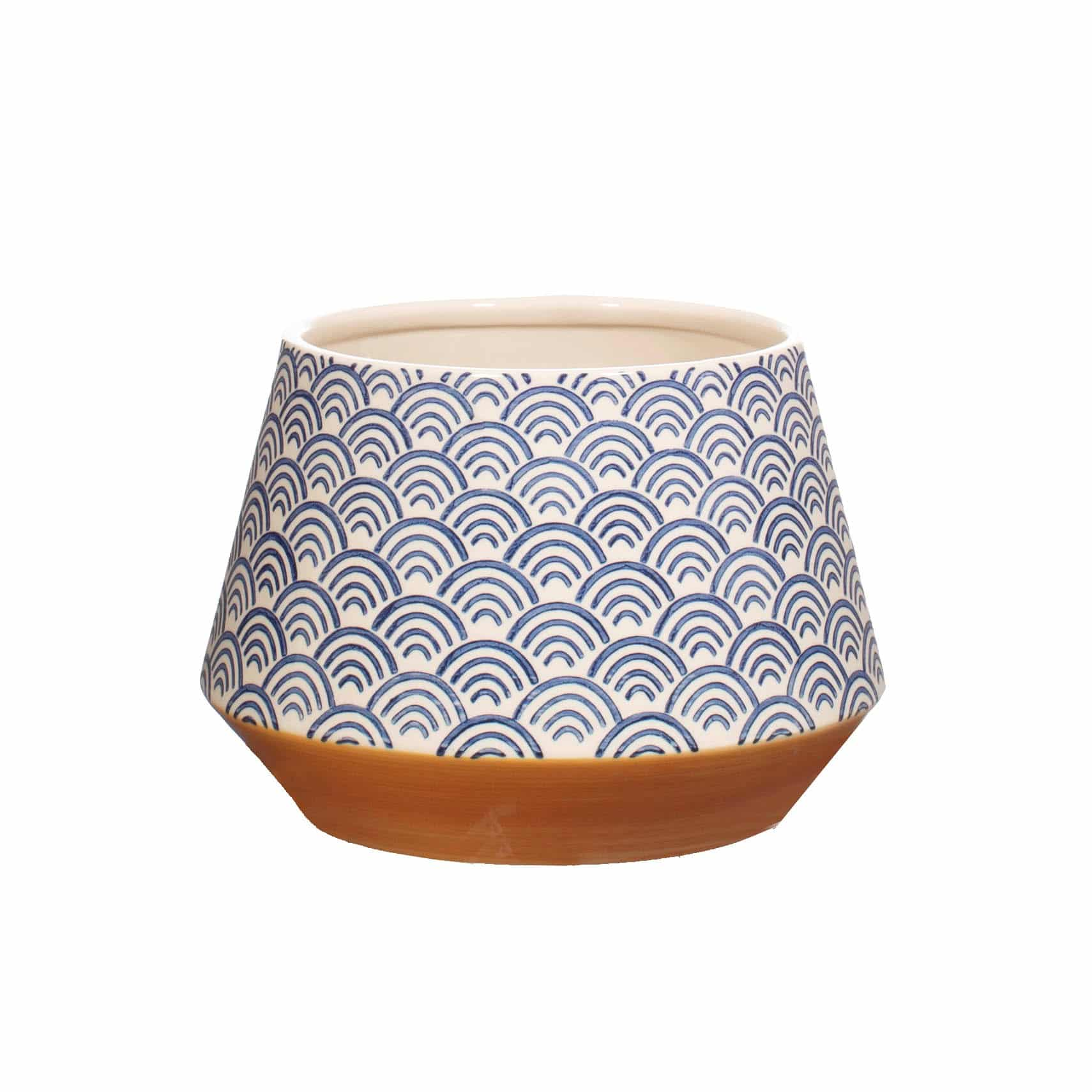 Blue Indoor Plant Pot