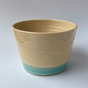 Light Blue Hand Thrown Pot