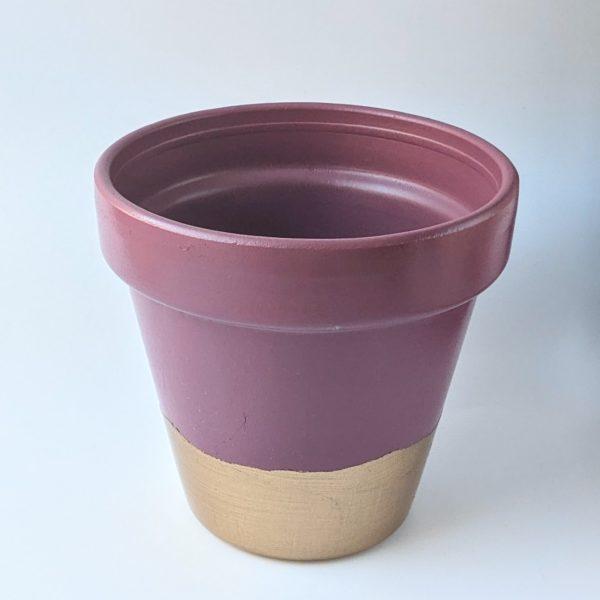 Dusty Pink Plant Pot